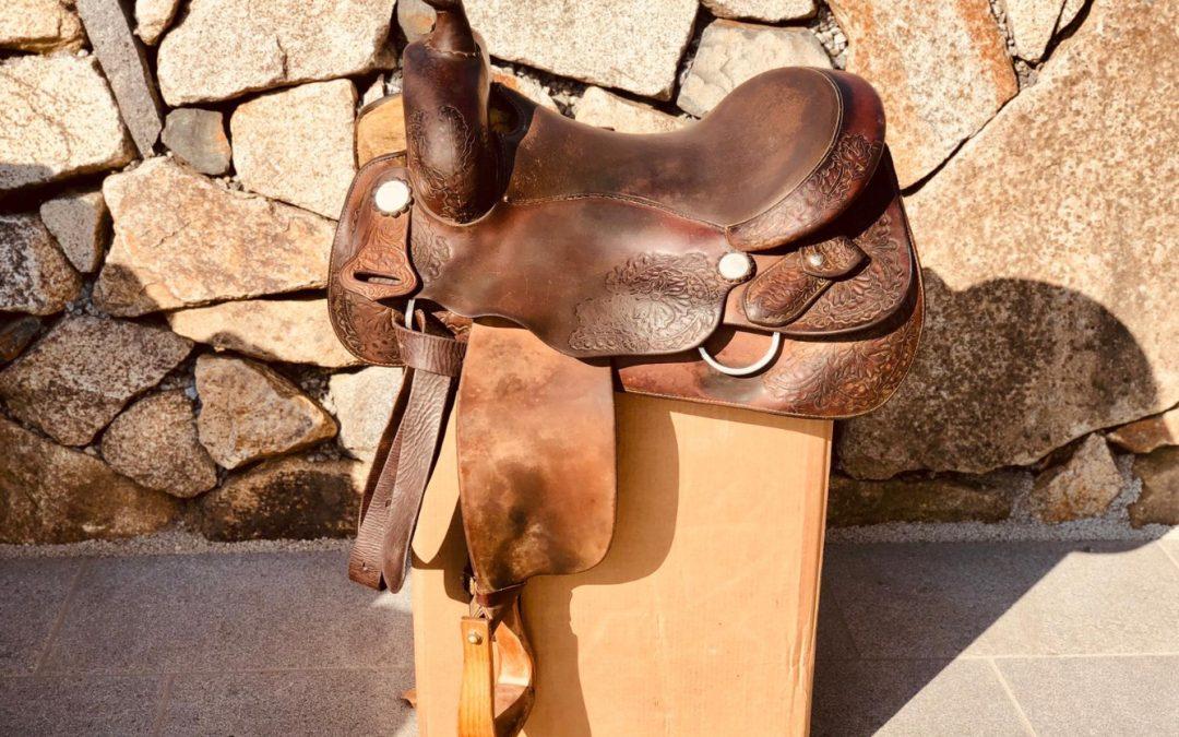 Used Donn Leson TVB Custom Saddle sold!
