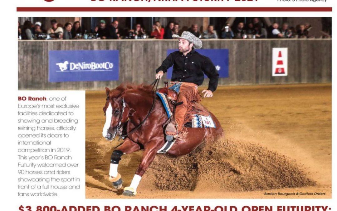 Superhorse Doctors Orders wins Bo Ranch Open Futurity 2021